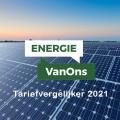 Energie VanOns Tariefvergelijker mei 2021